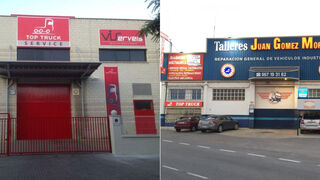 Dos talleres de la red Top Truck, ejemplos de compromiso durante el estado de alarma