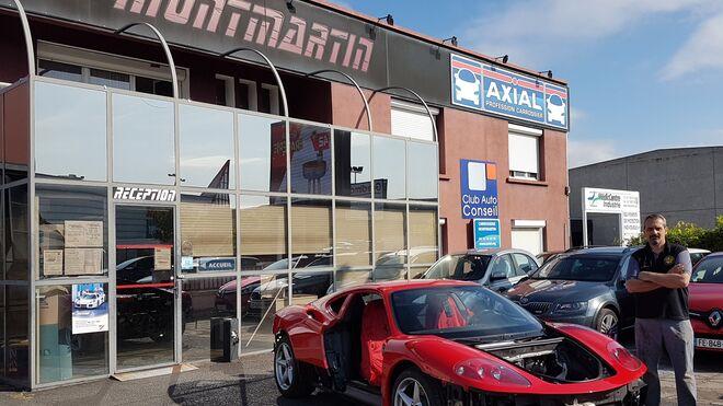 Un Ferrari 360 Modena vuelve a brillar tras una colisión con la ayuda de Spies Hecker