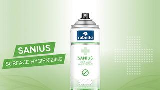 Roberlo lanza Sanius, un higienizador de superficies para la reapertura del taller