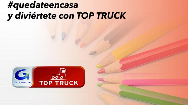 Top Truck ofrece ideas a los niños para divertirse en casa durante el confinamiento