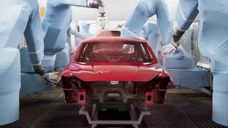 El proceso de pintado de coches en Seat requiere 200 robots y 1.100 empleados