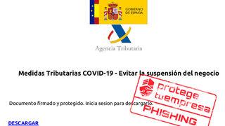 Alerta para los talleres por correos que suplantan la identidad de la Agencia Tributaria