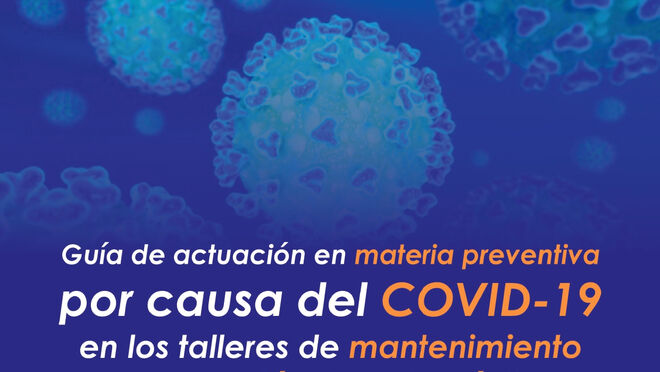 Guía de actuación para talleres en materia preventiva a causa del Covid-19