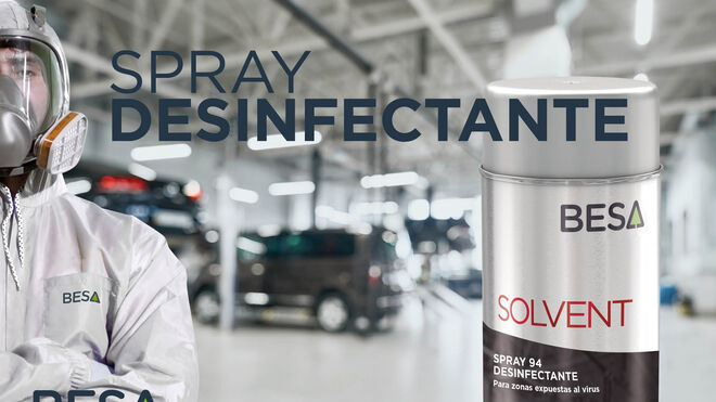 Besa sigue suministrando sprays desinfectantes gratis durante la desescalada