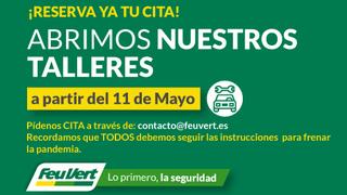 Feu Vert reabre sus talleres desde el 11 de mayo