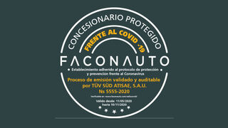 67 grupos de concesionarios cuentan ya con el sello de seguridad de Faconauto