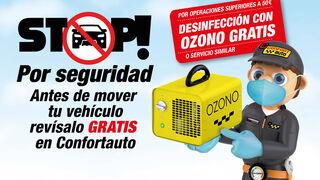 Confortauto ofrece revisiones gratuitas del vehículo y regala desinfecciones de ozono