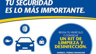 Vulco reabre sus puertas y regala kits de desinfección por la revisión de vehículos