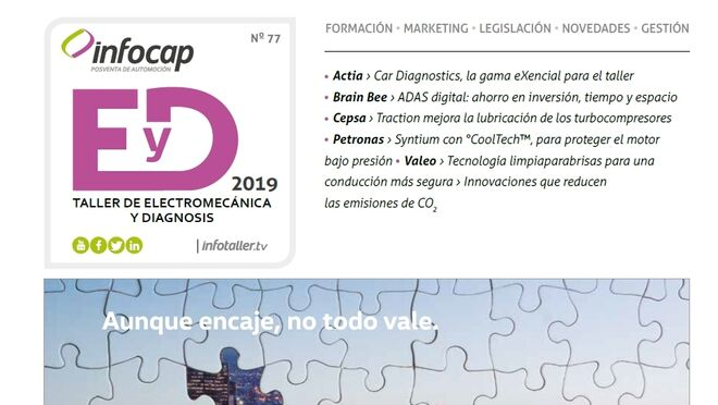 Obtén la versión digital de la revista Infocap para talleres de electromecánica
