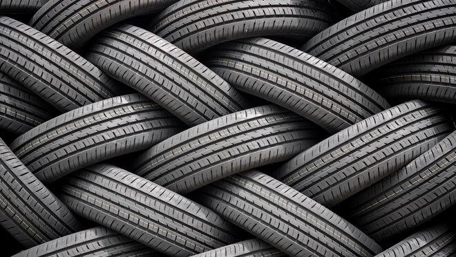 Denuncian el vertido de decenas de neumáticos en La Femosa (Lleida)