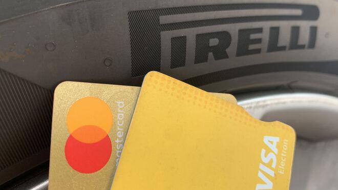 Pirelli facilita a los talleres el pago con tarjeta de crédito de los pedidos en su web