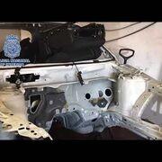 La Policía desmantela un taller ilegal en Madrid que robaba y despiezaba coches en horas