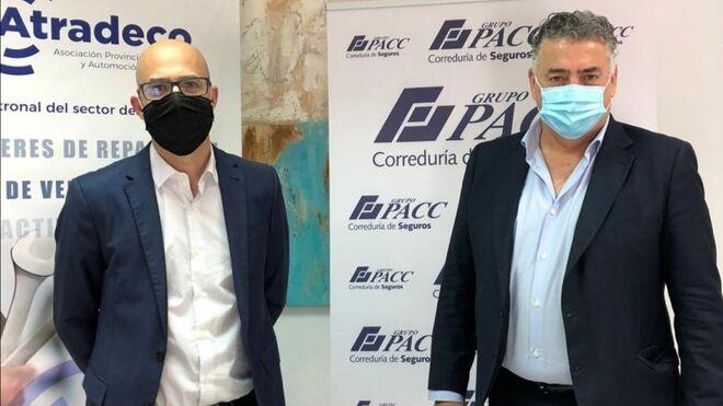 Atradeco firma un acuerdo con Grupo Pacc para asesorar en gestión de seguros