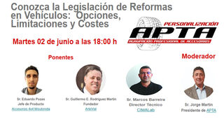 Apta analizará las claves de la 6ª Revisión del Manual de Reformas en un coloquio online
