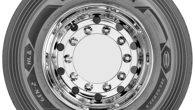 Goodyear presenta los neumáticos Kmax T Gen-2 para camiones