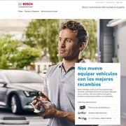 Bosch Automotive Aftermarket estrena página web para el taller