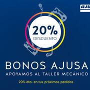 20% de descuento en los productos Ajusa