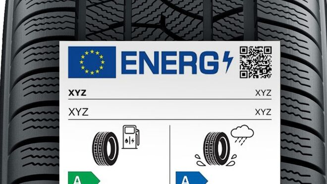Así es el nuevo reglamento de etiquetado de neumáticos