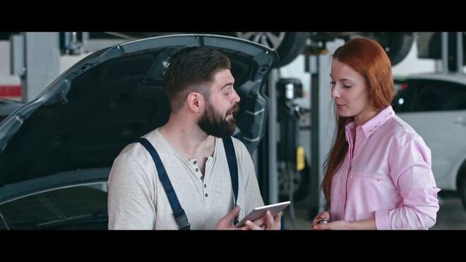 La labor de los mecánicos centra la nueva campaña de seguridad vial de ECEC