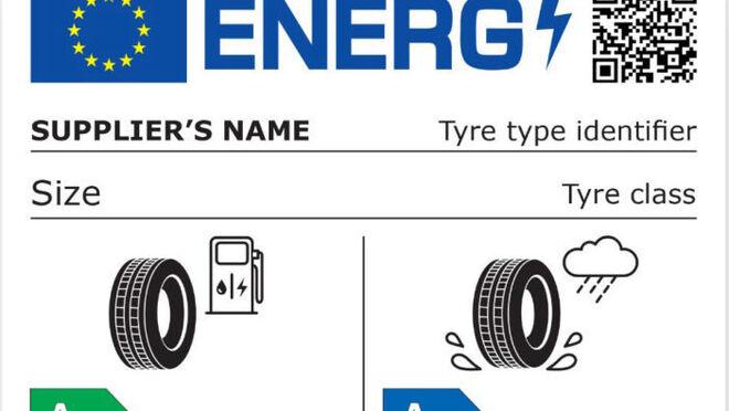 """Las """"lagunas"""" de la nueva etiqueta del neumático"""