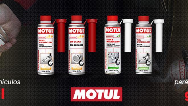 Motul presenta cuatro aditivos para el sistema de combustión de motores diésel y gasolina
