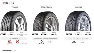 ¿Cómo aconsejar a los clientes sobre el tipo de neumáticos que debe llevar el coche?