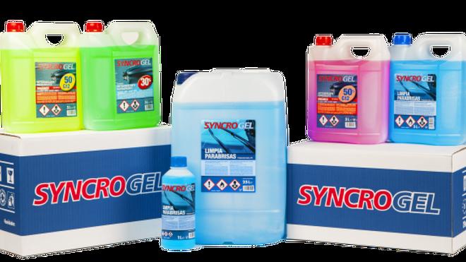 Lausan distribuye la gama de químicos Syncrogel en exclusiva en España