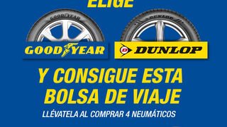Goodyear-Dunlop y Confortauto regalan una bolsa vintage para el verano