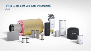 Bosch enumera los diferentes tipos de filtros que equipan un vehículo industrial