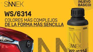 Sinnek presenta su nuevo básico WS/6314 que reproduce los colores tricapa complejos