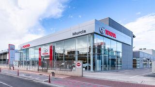 El concesionario Toyota Murcia estrena instalaciones