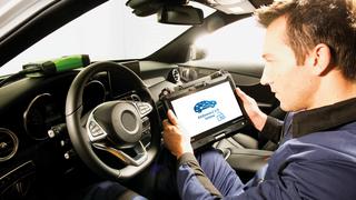El software Bosch ESI[tronic], apto para la diagnosis de vehículos Mercedes-Benz