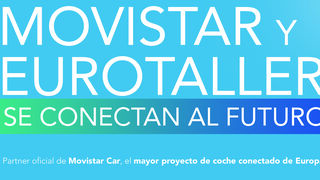 Eurotaller ofrece la activación del servicio de Movistar Car para coches conectados