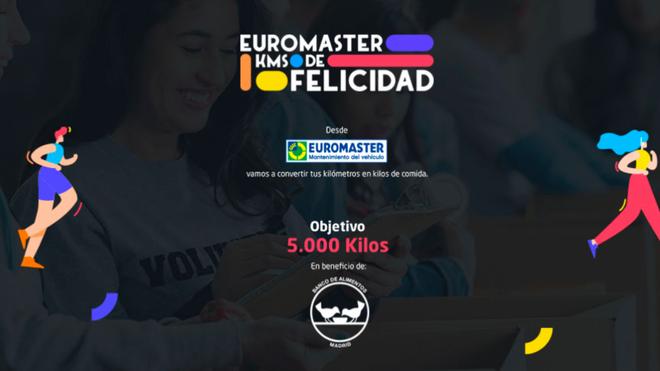 """""""Kilómetros de Felicidad"""", la campaña de Euromaster para donar 5.000 kilogramos de alimentos"""