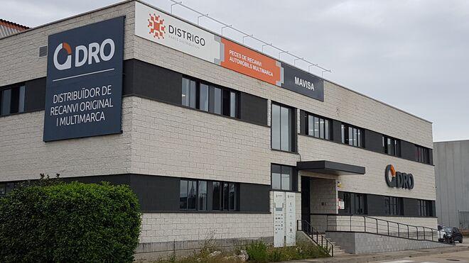 El nuevo almacén de DRO, totalmente operativo