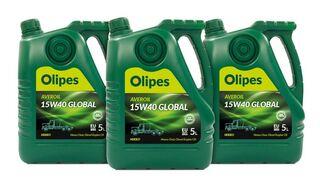 Mercedes-Benz renueva su certificación al lubricante Averoil 15W40 Global de Olipes