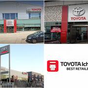 Tres concesionarios españoles premiados por Toyota en los Ichiban 2020