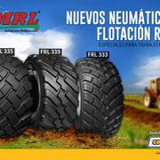 Los nuevos neumáticos MRL de flotación radial de Tiresur, ya disponibles
