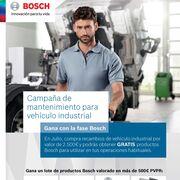 Bosch activa su campaña de verano para el mantenimiento del vehículo industrial