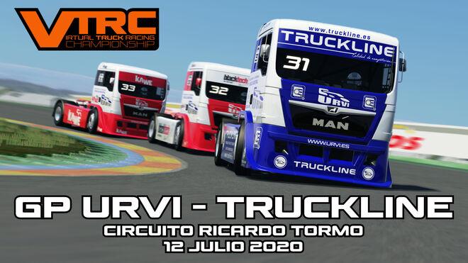 Urvi, patrocinador del campeonato europeo de camiones 2020 en formato virtual