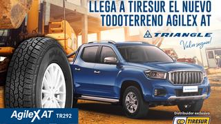 El nuevo neumático de Triangle para todoterrenos, Agilex At, llega a Tiresur