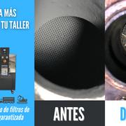 ¡La máquina de limpieza de filtros más rentable para tu taller!