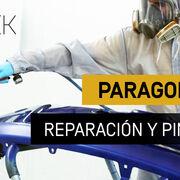 Reparación y pintado de paragolpes