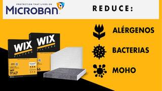 Los filtros WIX Filters son altamente efectivos contra el polvo, hollín y el polen