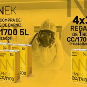 "Sinnek promociona el barniz UHS CC/1700 High Performance con su oferta ""4x3"""