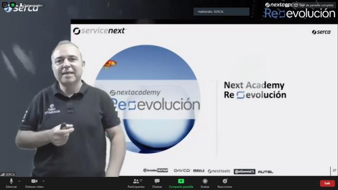 Nace Next Academy Reevolución, la nueva apuesta en formación online de Serca
