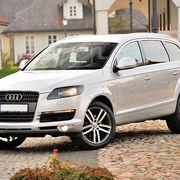 Avería en el sistema de iluminación de los faros delanteros de un Audi Q7
