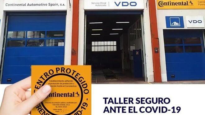 """Cuatro talleres de la red DTCO+ ya cuentan con el sello """"Centro protegido frente al Covid-19"""""""