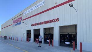 Así vende neumáticos Costco, el gigante americano del retail