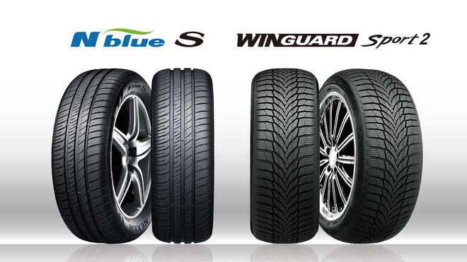 Dos neumáticos de Nexen Tire, equipo original del nuevo Volkswagen Golf